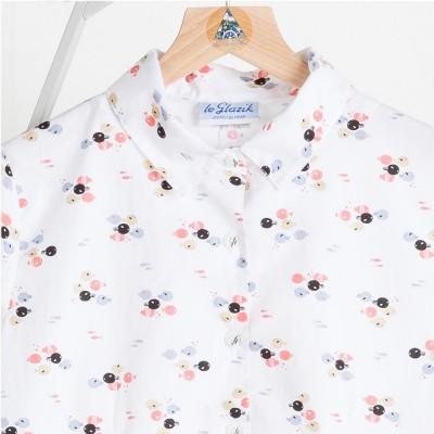 Mangrove, short-sleeves printed blouse zoom