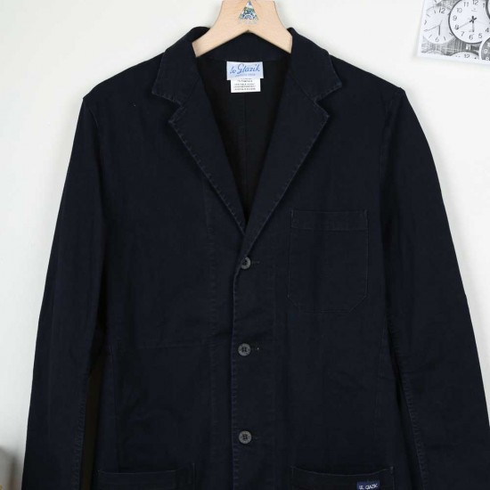 Fronsac, stretch denim blazer in genuine waid