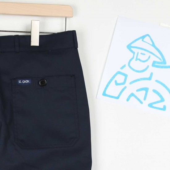 Pantalon Le Glazik pour les professionnels de la mer navy
