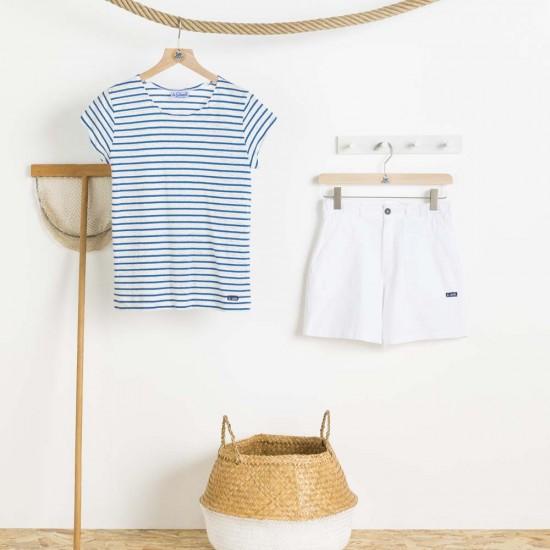 Zée, marinière en lin et coton