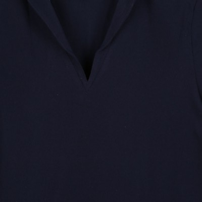 Tropique, V-neck T-shirt made in France collar