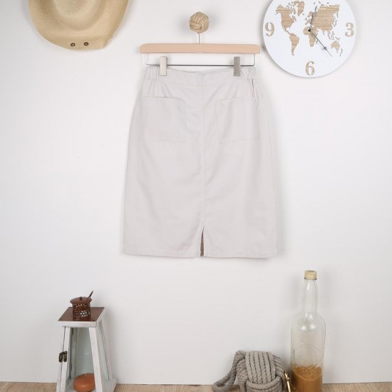 Aurelia, Skirt with two back pockets