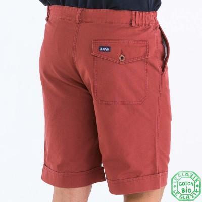 Binic Bermuda Homme Coton Bio poche arrière