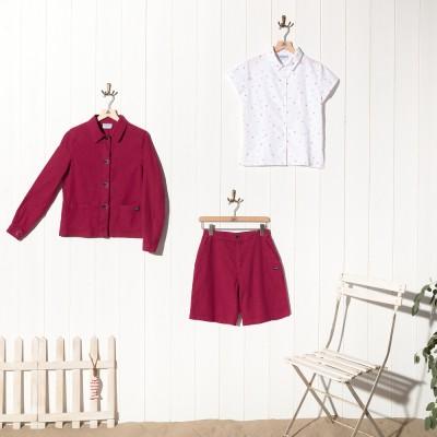 Blain, linen/cotton bermuda shorts
