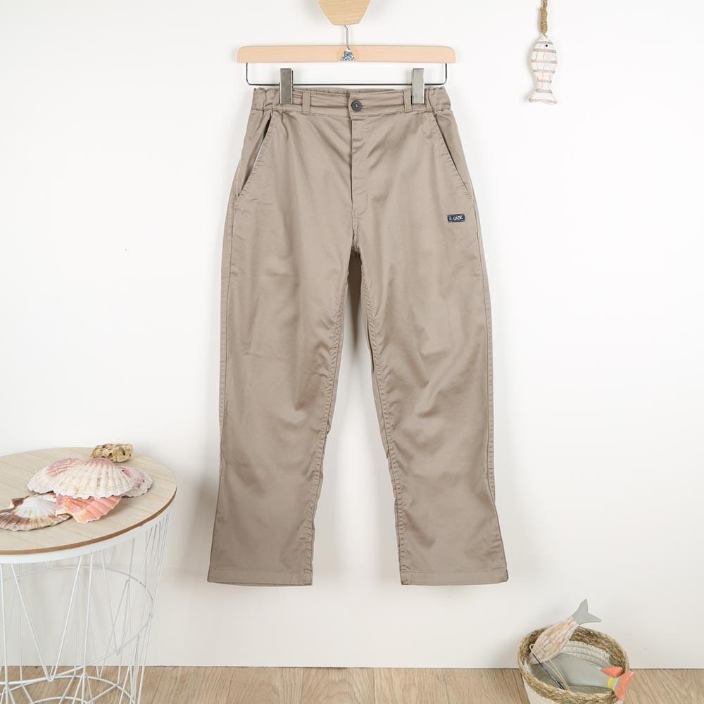 Polynice, satin stretch fabric pants