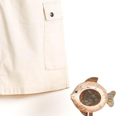 Side pocket Bermuda shorts Blavet Le Glazik