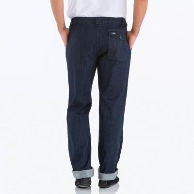 Poche arrière le glazik pantalon jean pieuvre