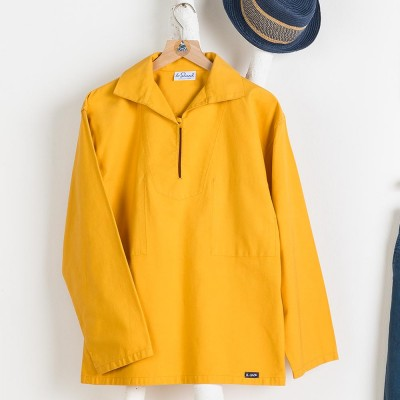 Men sailor smock authentique pour breton Le Glazik yellow