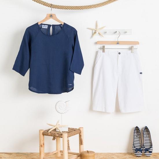 Malouine Women blouse and short pants