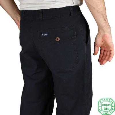 Navy pants back pocket Pornic
