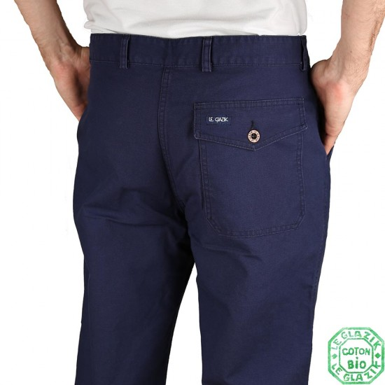 Marine pants Pornic back