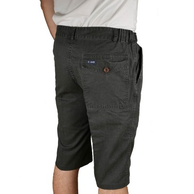 Billey Bermuda Homme Anthracite Le Glazik back pocket