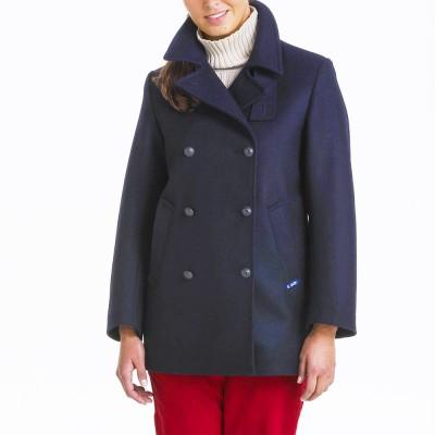 Women Marine Authentic Pea Coat LE Glazik