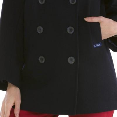Bisquine buttons Pea Coat women