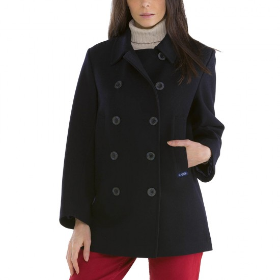 Women Bisquine Pea Coat