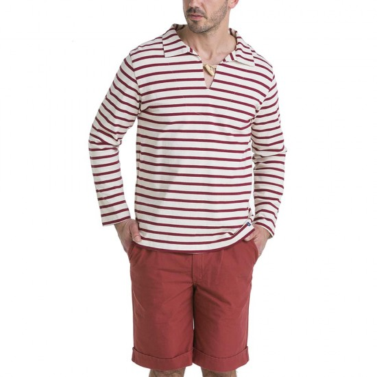 Sailor Smock Le Glazik Ecru Bordeaux