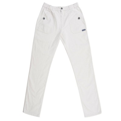 Pindare Women Pants Le Glazik White