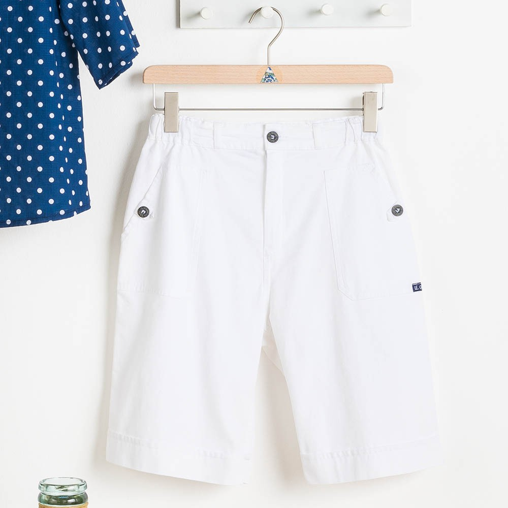 Women Bermuda shorts Briere Blanc Le Glazik