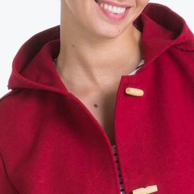 Annaick Hermes women kabig collar