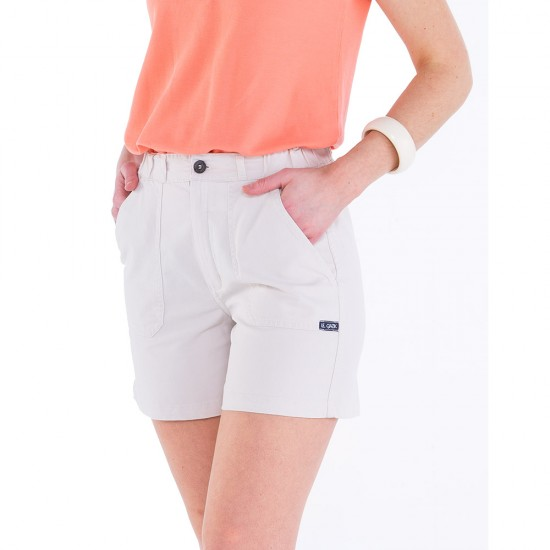 Women short Odet Nacre