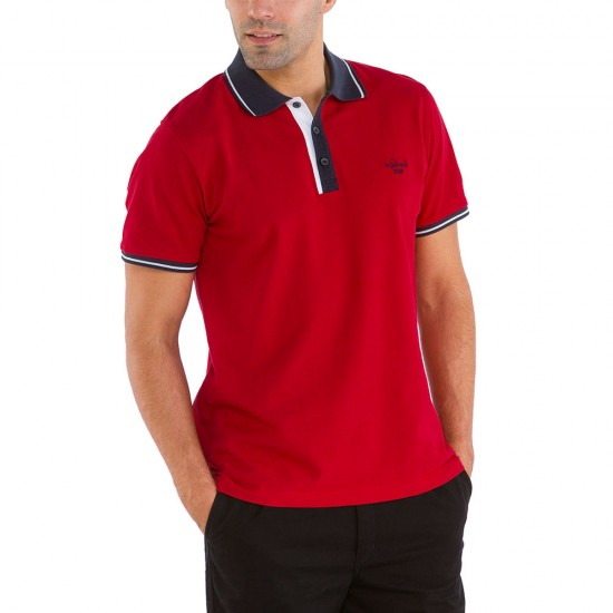 Red Polo C Le Glazik