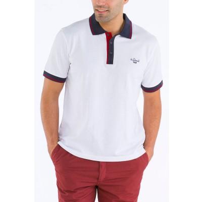 Polo C Blanc Le Glazik