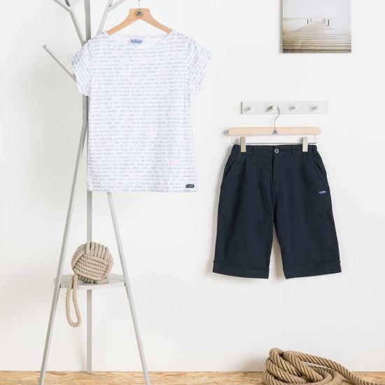 T-shirt mai Le Glazik femme fantaisie et pantacourt