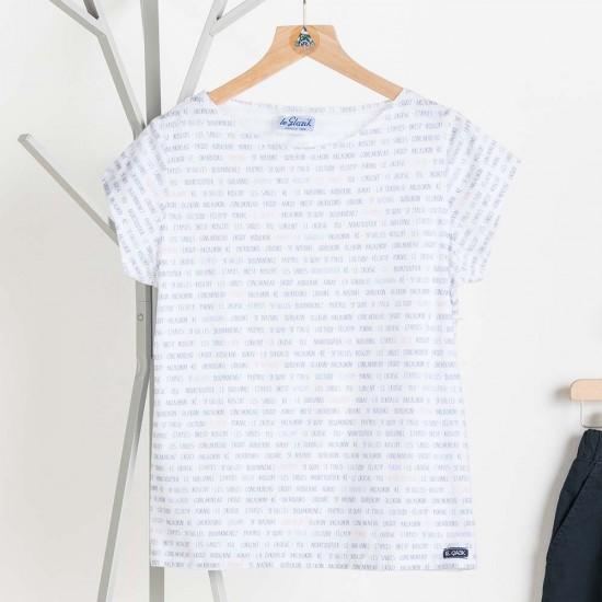 T-shirt mai Le Glazik femme fantaisie