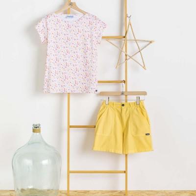 T-shirt femme le Glazik Kanaris et short
