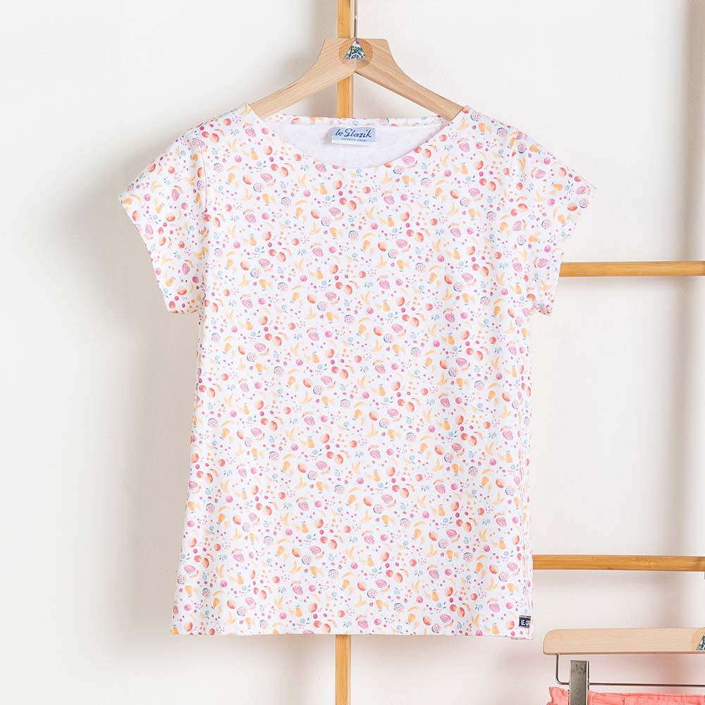 T-shirt femme le Glazik Kanaris