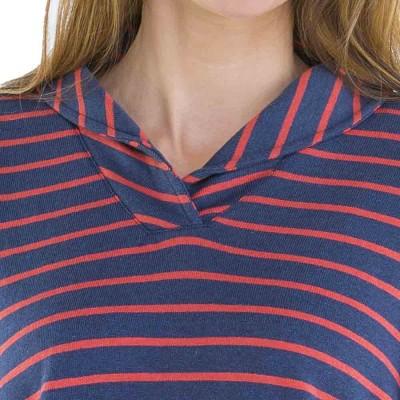 Tacoma Mariniere manches longues jean pastèque collar
