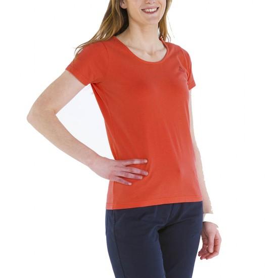 Zéa, T-shirt 100% coton avec logo Le Glazik Papaye
