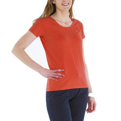 Zéa, T-shirt 100% cotton with Le Glazik logo Papaye