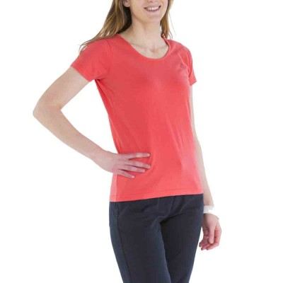 Zéa, T-shirt 100% coton avec logo Le Glazik Bisque