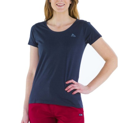 Zéa, T-shirt 100% cotton with Le Glazik logo Navy