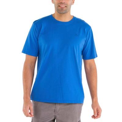 Zeno, T-shirt 100% cotton with Le Glazik logo Blue