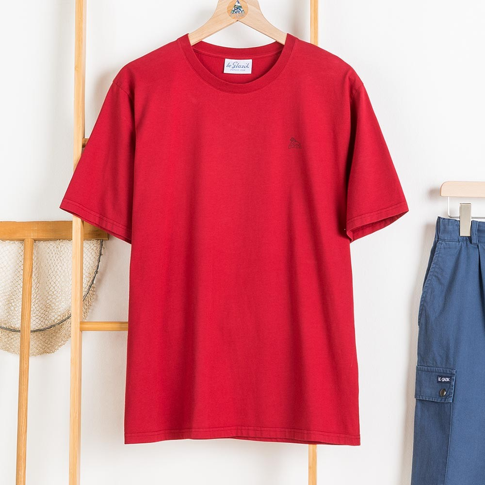 Zeno, T-shirt 100% cotton with Le Glazik logo Hermes