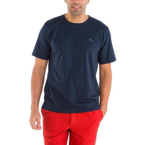 Zeno, T-shirt 100% cotton with Le Glazik logo Navy