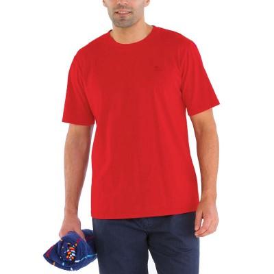 Zeno, T-shirt 100% coton avec logo Le Glazik Papaye