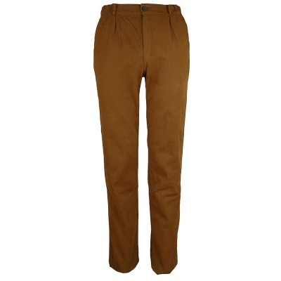 Pegasus, Badiane Stretch canvas pants and tapered legs