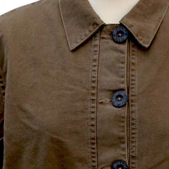 Fastnet, Fancy Stretch Canvas Jacket Le Glazik buttons