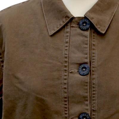 Fastnet, Fancy Stretch Canvas Jacket Le Glazik buttons