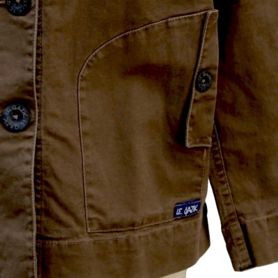 Fastnet, Fancy Stretch Canvas Jacket Le Glazik pockets