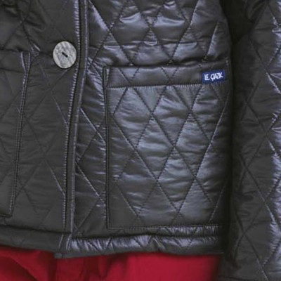 Alice, Double-sided quilted jacket pocket