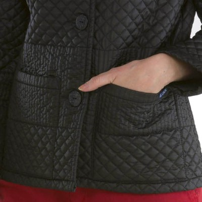Alinea, Irregular quilted jacket Le Glazik pockets