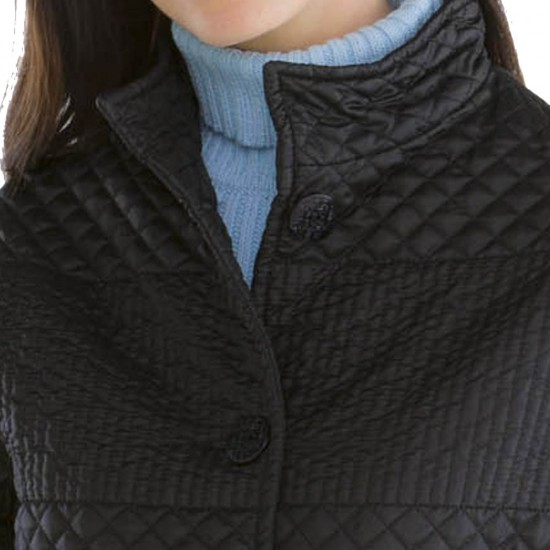 Alinea, Irregular quilted jacket Le Glazik collar