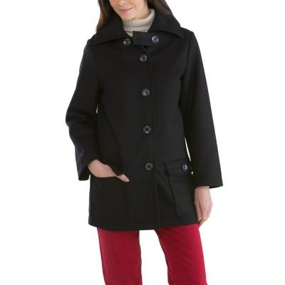 Niemen, Lined coat and windproof placket Le Glazik