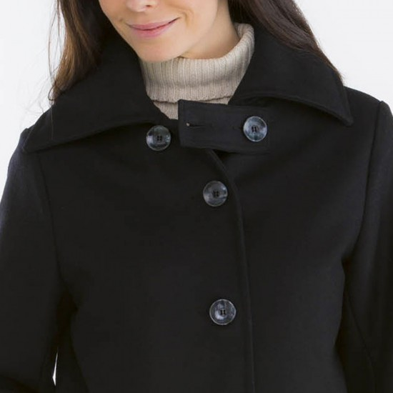 Niemen, Lined coat and windproof placket collar