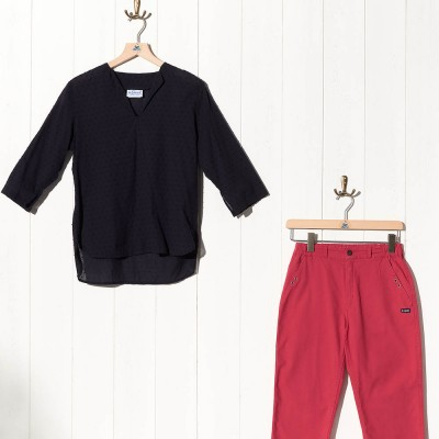 Vestale, Pitch Sailor smock in very light fabric and pants