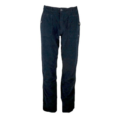 Laponie, Pantalon en velours côtes fines bleu de prusse